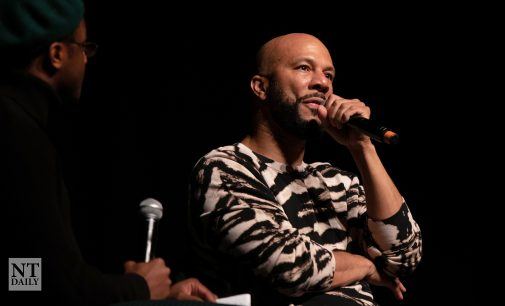 Common speaks on self-love and personal truths at the Distinguished Lecture Series