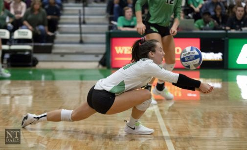 North Texas volleyball lost last conference road game to the Miner