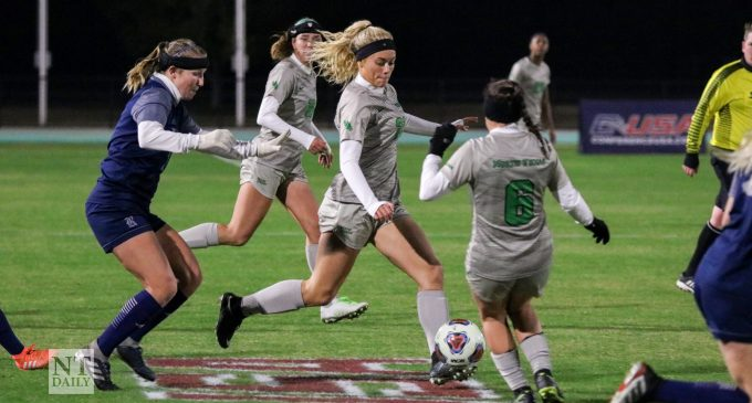 Mean Green soccer is one game away from its sixth consecutive conference title