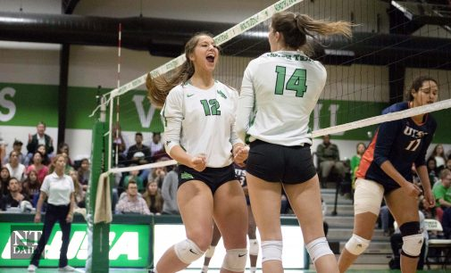 Mean Green volleyball look to challenge adversity in C-USA Tournament