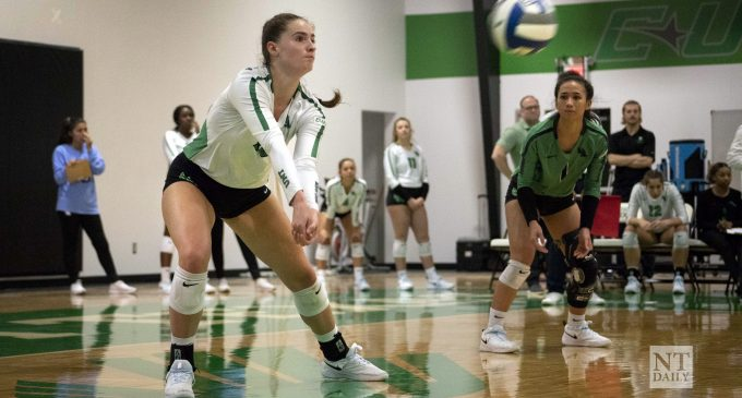 Recap: North Texas volleyball makes first round exit in Conference USA Tournament