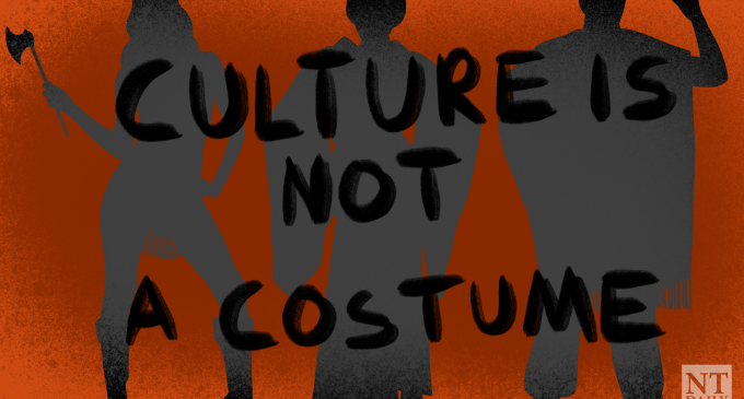 There should be no gentrifying cultures and ethnicities this Halloween