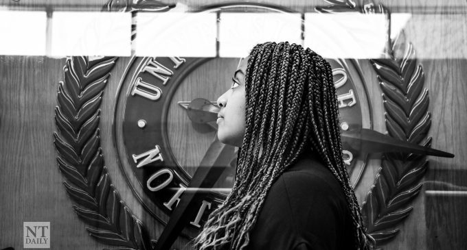 SGA President Yolian Ogbu works to make a difference at UNT