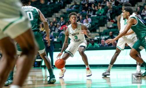 Recap: Mens basketball takes down Texas-Arlington on the road 77-66