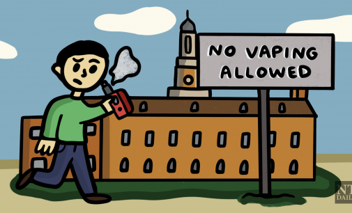 Division of Student Affairs considering ban of e-cigarettes
