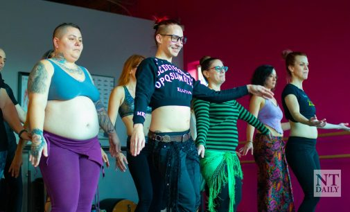 Dance student and instructor creates inclusive space through belly dance