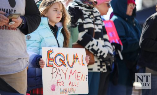 Denton rallies during fourth annual Women's March event