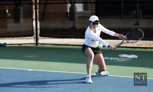 Mean Green tennis takes down New Mexico State, wins second straight