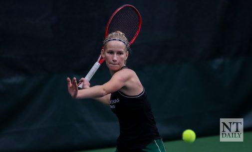 Recap: Mean Green tennis doesn't flinch against Stephen F. Austin
