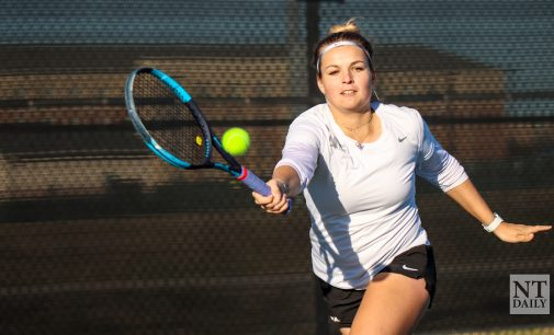 Recap: Mean Green tennis turns the page on Lamar, tallies third straight victory