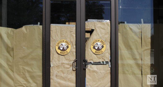 Originally scheduled to open in the spring, Einstein Bros. Bagels opening delayed until summer