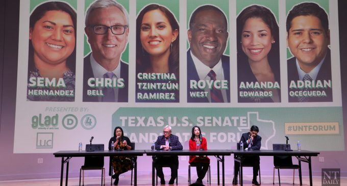 Democratic Candidates discuss issues during Texas Senator Forum