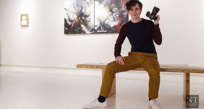 Media arts student creates production company, opportunities for growth