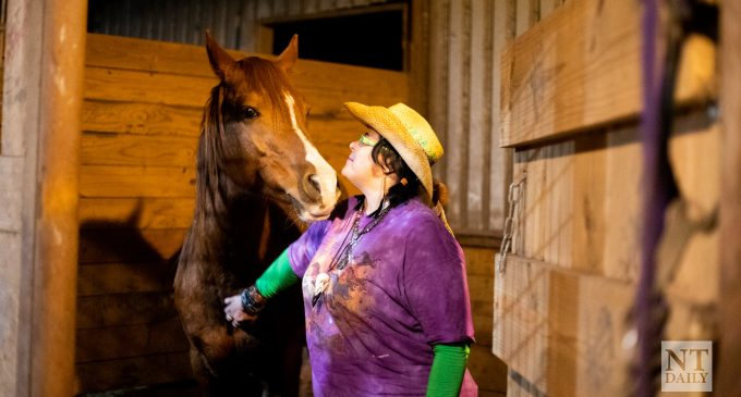 Arabian Rescue Therapy helps clients by using horses