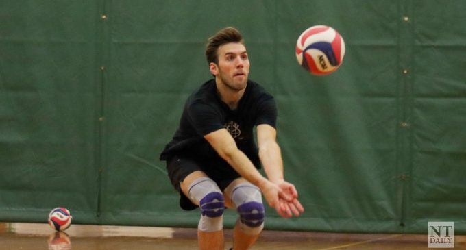 Men's volleyball club built on chemistry
