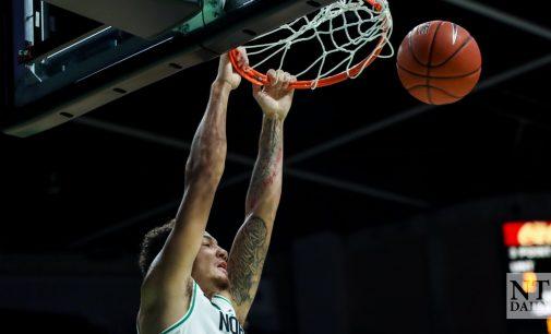 Men's basketball secures a win in Birmingham