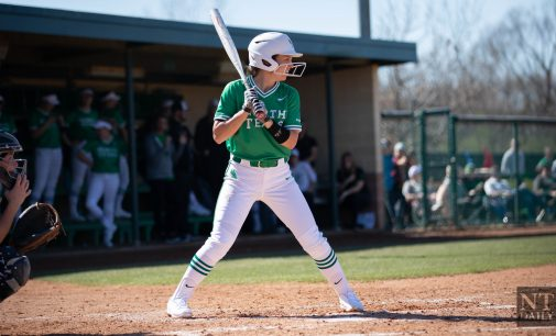 Mean Green softball ends the weekend 4-0 in their home-hosted tournament