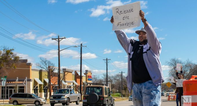Family and supporters of Darius Tarver protest to release bodycam footage