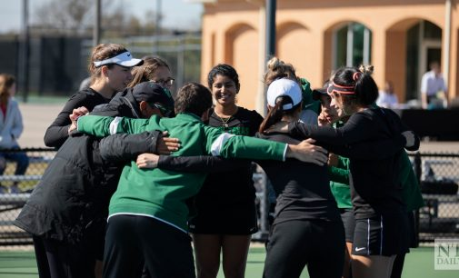 Mean Green tennis adds to undefeated conference record