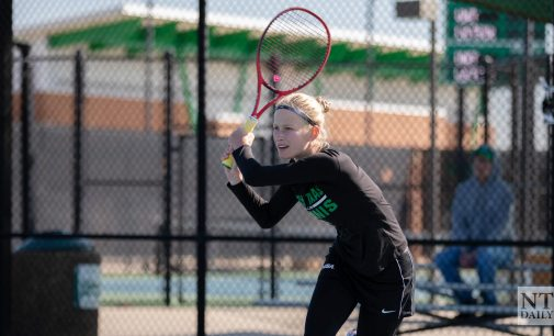 Mean Green tennis drops third in a row, loses to South Florida 4-2