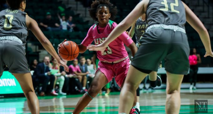 Women's basketball late game comeback attempt at Old Dominion falls short
