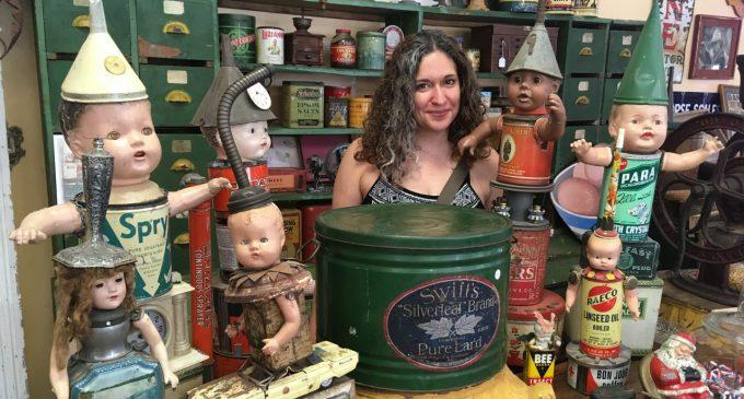 Instagram account showcases the unusual through antique dolls and mannequins