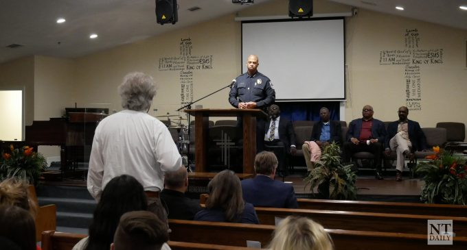 Denton police chief discusses Tarver bodycam footage at community forum
