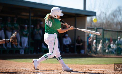 Recap: Softball sweeps Arkansas-Pine Bluff in delayed three game series