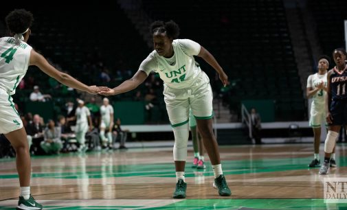 Anisha George's efforts put North Texas on top against Texas-El Paso