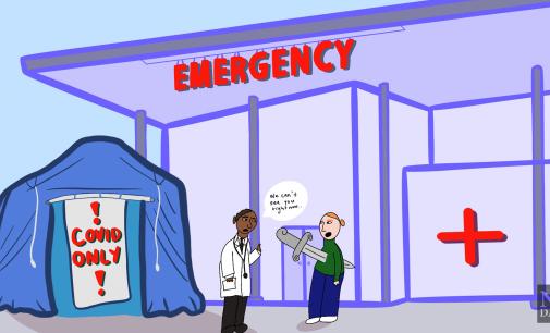 Hospitals shouldn't turn away non-COVID-19 patients