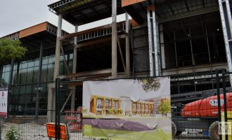 Campus construction continues as demolition projects go through