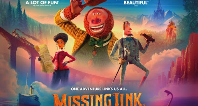 """Missing Link"" is lesser LAIKA, but still charming"