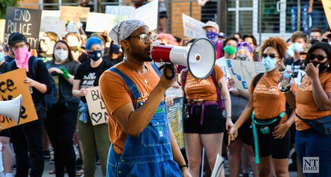 Denton protests see new leadership
