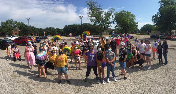 How Denton celebrated Pride amid the coronavirus pandemic