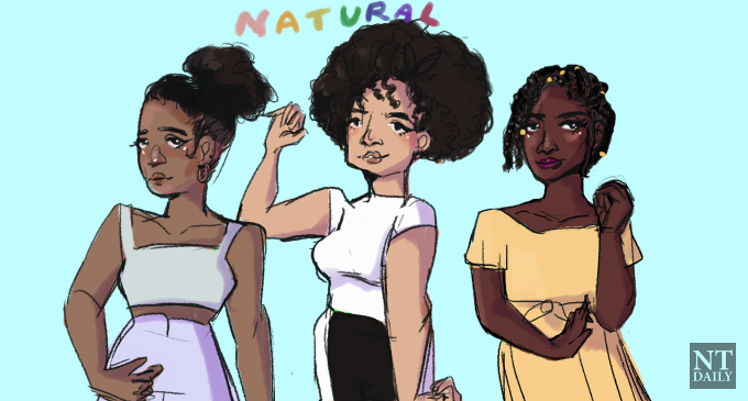 Why wearing natural hair is a big deal