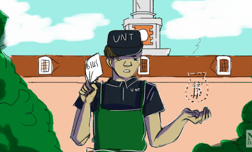 UNT does not care about its student workers