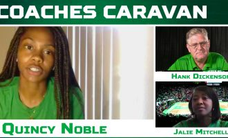 Former WNBA player added to women's basketball coaching staff, senior golfer's season preserved, tennis doubles dynamic duo