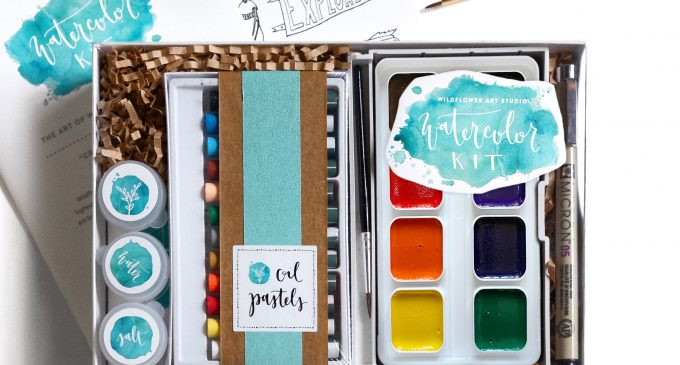 Wildflower Art Studio brings creativity to comfort of home