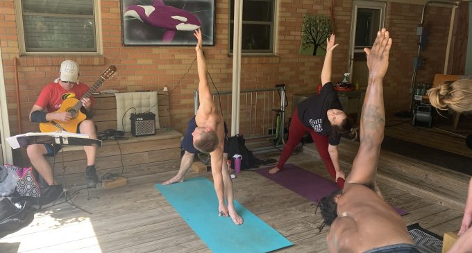 Karma Yoga lives up to its name by giving back to the community