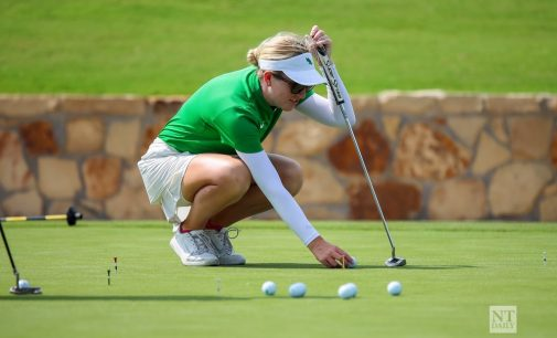 Women's golf finishes in 4th place, establishes new program record in Schooner Fall Classic
