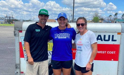 North Texas softball coaches support McNeese State, Lake Charles community following Hurricane Laura