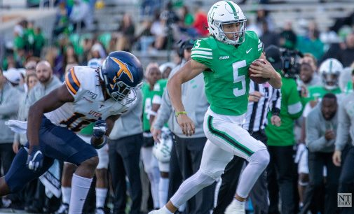 Mean Green football set sights on season opener against Houston Baptist