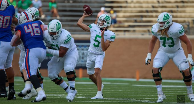 North Texas football reloads for this year's rematch against Houston