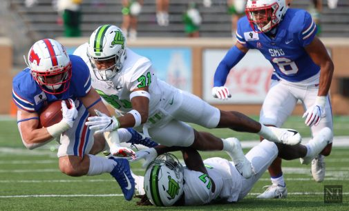North Texas suffers first loss of the season to SMU