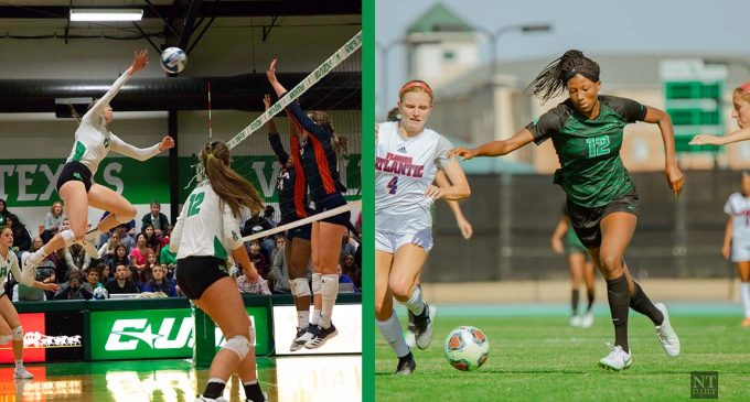 Mean Green soccer, volleyball carry on with an extended offseason for fall 2020