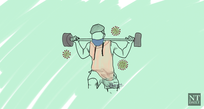 What is appropriate to do during a pandemic?