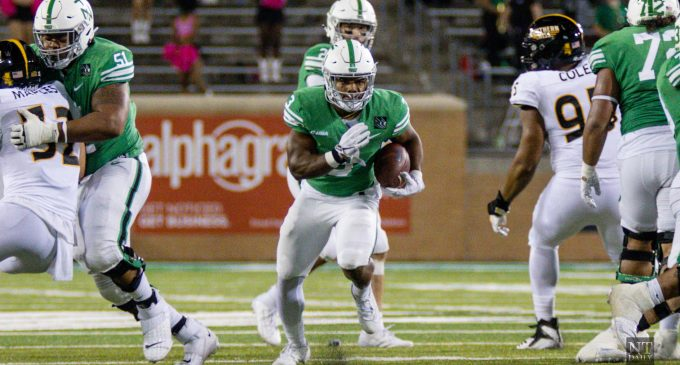 Football running back position group supplementing high-powered offense