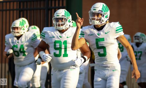 BREAKING: North Texas quarterback named as the Earl Campbell Tyler Rose Award National Player of the Week