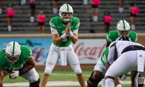 North Texas refuels for bout with Charlotte, names Austin Aune as starting QB