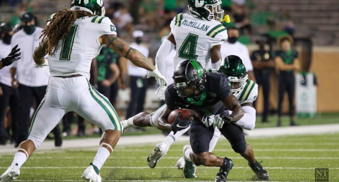 RECAP: North Texas' record breaking offensive output upends Middle Tennessee on the road